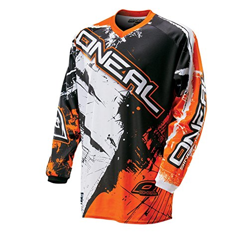 O'Neal Element MX Jersey SHOCKER Schwarz Orange, 0024S-40, Größe L