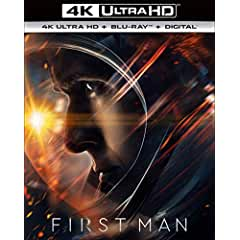 FIRST MAN arrives on Digital Jan. 8 and on 4K Ultra HD, Blu-ray and DVD Jan. 22 from Universal