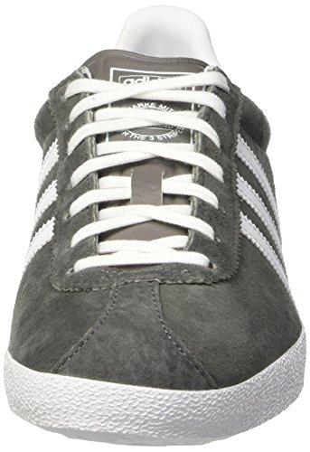 Adidas Originaler Gazelle Og Dame Sneakers Grå (aske / Ftwr Hvid / Guld Opfyldt) NybyU