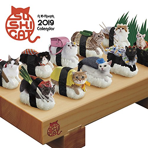 2019 Sushi Cat Mini Calendar by Trends International