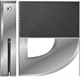 D silver Xbox One Console Vinyl Decal Sticker Skin by Diamond Printing