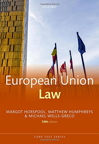 European Union Law (Core Texts Series)