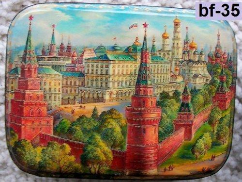 Russian Lacquer box Fedoskino
