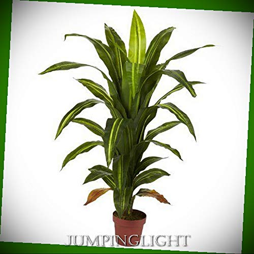 - JumpingLight 6650 4' Dracaena Silk Plant (Real Touch) Artificial Flowers Wedding Party Centerpieces Arrangements Bouquets Supplies