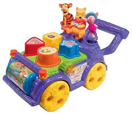 0b9fa42079d8 Amazon.com  VTech - Winnie The Pooh - Sort  n Learn Cart  Toys   Games