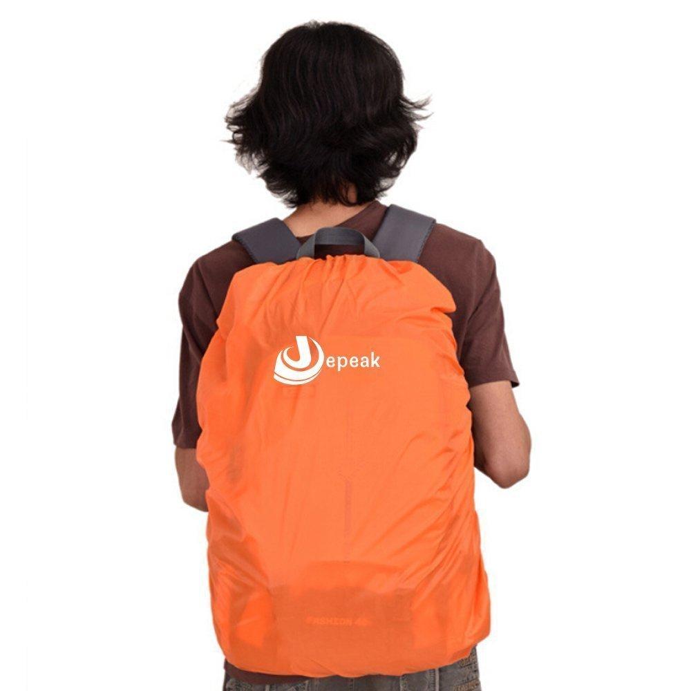Jepeak Waterproof Backpack Rain Cover 30L-40L Daypack Dustproof Rainproof  Protector Cover  (Elastic Adjustable ) ... 49e8d2730e