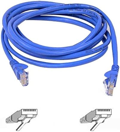 BoltLion BL-692690 Snagless Cat5e RJ45 Ethernet Cable 2 Feet 100 Pack Blue 1Gbps Network//Internet Cable 350MHZ Professional Series