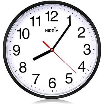 Amazon.com: Kikkerland CL23-MU Ultra Flat Wall Clock