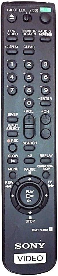 Sony RMT-V402 VCR Remote Control