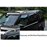 4 Pcs Extented Roof Rail Crossbar For Land Rover Discovery 4 LR4 2010 2016  Crossbars