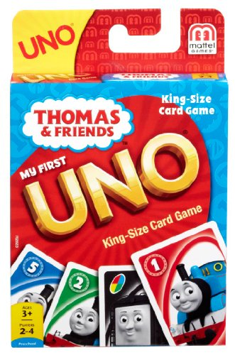 Thomas and Friends My First UNO King Size Card Game