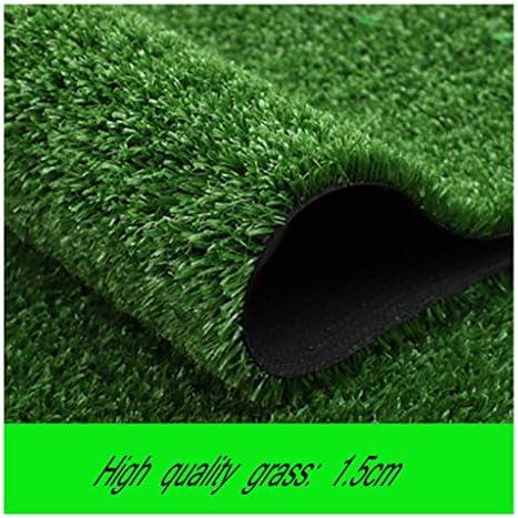 YNFNGXU プレミアム人工芝、自然で現実的な庭の芝生の15 Mmスタック2 X 1 Mの屋内および屋外の偽の芝生 (Size : 2x1.5m)