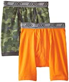 Jockey Big Boys' 2 Pack Boxer Brief with Moisture Wicking