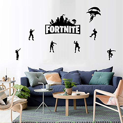 ELion Fortnite Wall Decor Peel & Stick Poster Decals 21x15 Inch by ELion (Image #2)