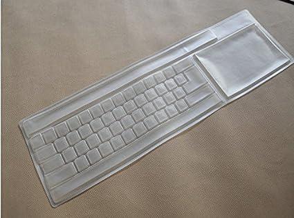 Flowerkui Coque en silicone universel clavier Transparent