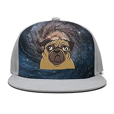 Trum Namii Unisex Bill Cap Pug Dog Mens Baseball Cap