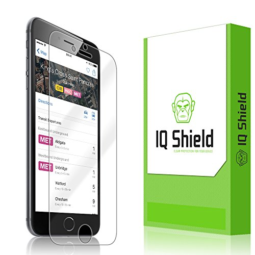 iPhone 6S Plus Screen Protector, IQ Shield LiQuidSkin Full Coverage Screen Protector for iPhone 6S Plus (iPhone 6 Plus 5.5) HD Clear Anti-Bubble Film - with