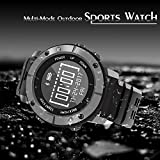 Mejorage Outdoor Sports Watch Running GPS Multi Sports Mode Golf Playing Fitness Tracker Underwater Activity Tracker Watch(Grey)