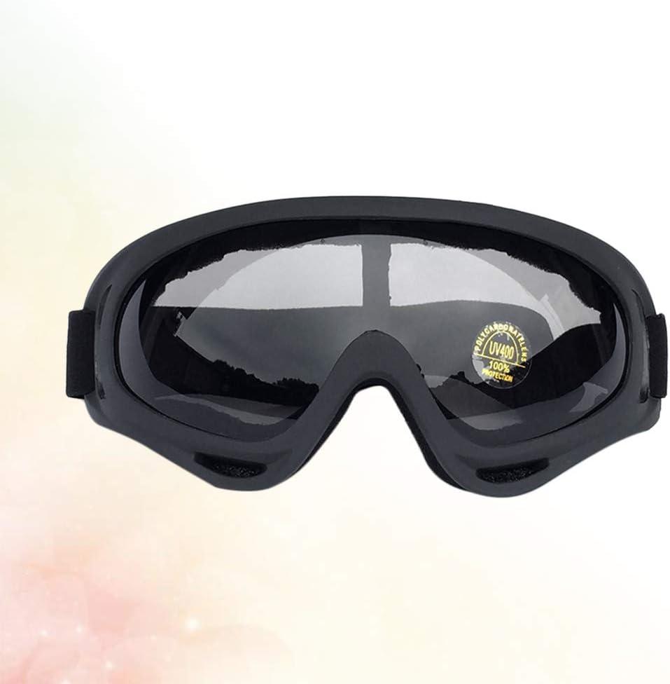 BESPORTBLE Gafas de Moto Gafas a Prueba de Viento Gafas de Seguridad Gafas Protectoras Gafas de Protección UV para Esquí Ciclismo Moto Deporte Equitación