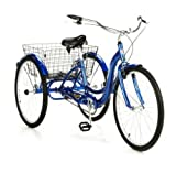 26' Schwinn Meridian Tricycle, Blue