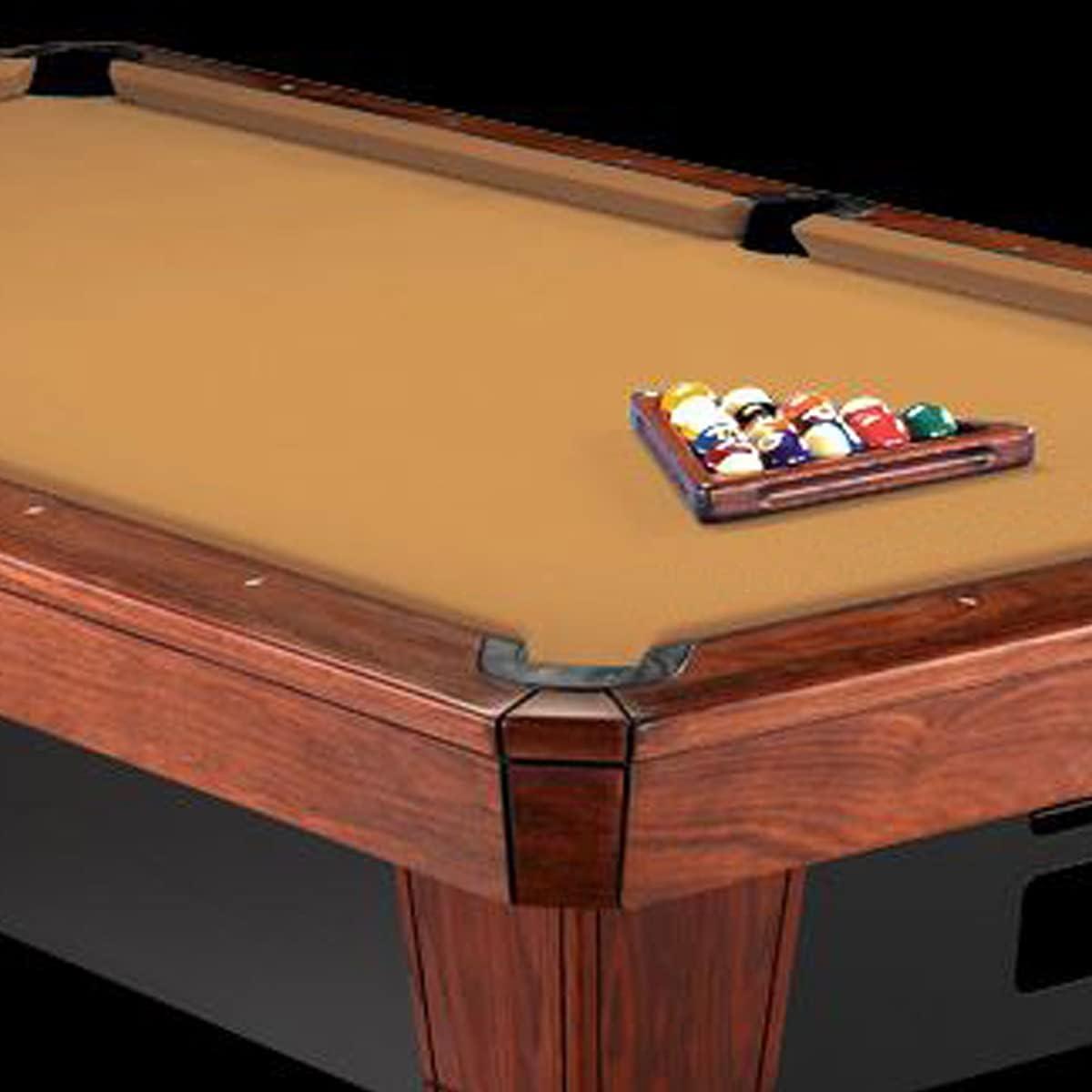 Cloth Pool Billiards Tournament Green 8/' Worsted High Speed Pool Table Felt