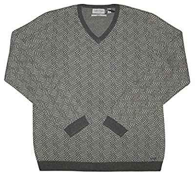 Calvin Klein Men's Slim-Fit Jacquard Sweater