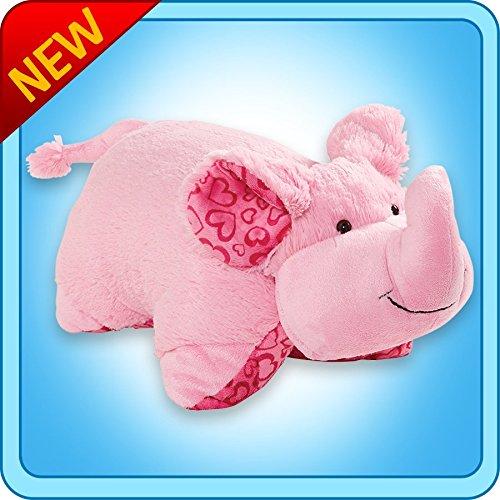 Authentic Pillow Pets Valentine Elephant XOXO Large 18 Plush