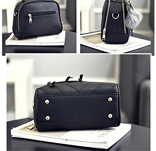 Unique Negro Bag Black De Dama Sjmmbb Sjmmbb Único La Lady negro La Moda Bolso Fashion Black Bag 23x18x10cm Bolso 23x18x10cm O6xqUZxw