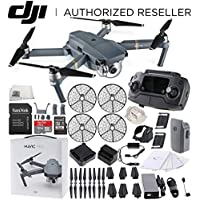 DJI Mavic Pro FLY MORE COMBO Collapsible Quadcopter + DJI Propeller Cage Starters Bundle