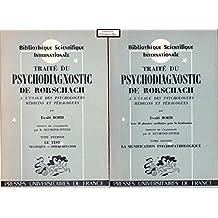 traite psychodiagnostic rorschach