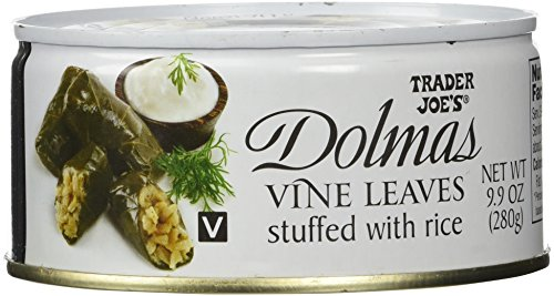 Trader Joe's Dolmas Vine Leaves Stuffed with Rice (Pack of 2) (Athena Plate Salad)