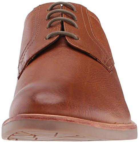 Tan Sherman Mens Birk Plain Toe Oxford Scarpe Tan