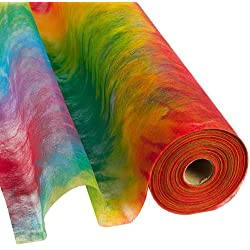 Theme Gossamer 19 Inches by 25 Yd Tie Dye Roll