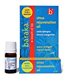 Baraka Sinus Rejuvenation Oil 4 ml - Sinus Inhalant, Decongestant - 6 Organic Essential Oils (1)
