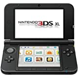"""Nintendo SPRSKKAB 3DS XL System - 4.9"""" Active Matrix TFT Color LCD - Black - Dual Screen - 800 x 240 - 128 MB Memory Digital Media Professionals PICA200 - Wireless LAN - Battery Rechargeable"""
