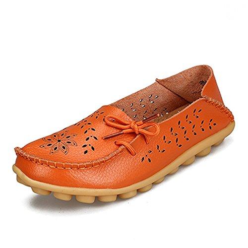 Women'S Camouflage Fashion Breathable Shoes (Orange) - 3