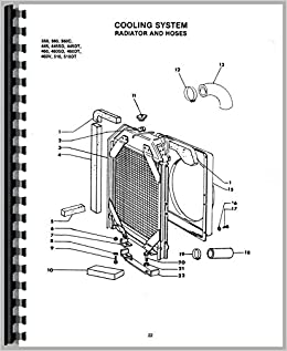 Long 445 Tractor Parts Manual Patio, Lawn & Garden Agricultural ...