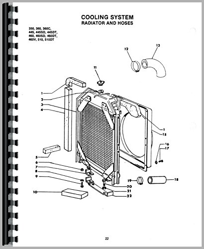 Long 350 Tractor Parts Manual 6301147727602 Books