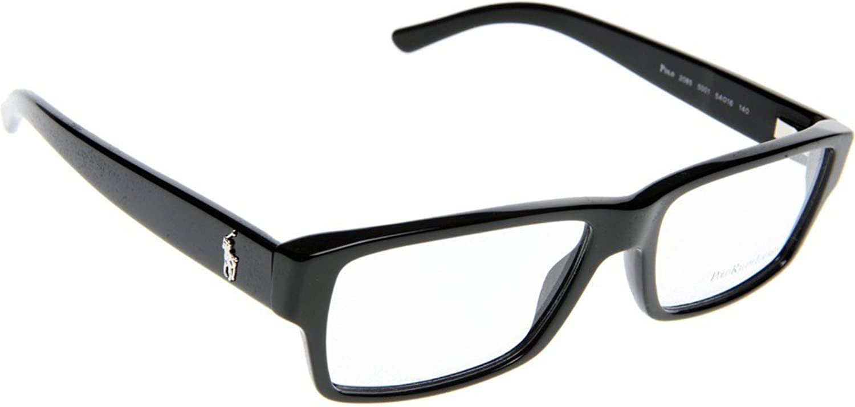 127d8c4b58 Polo By Ralph Lauren - Montura de gafas - para hombre Negro Negro Medium 30%