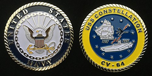 (USS Constellation CV-64 (Enlisted) Challenge Coin )