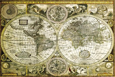 Poster Carte du Monde