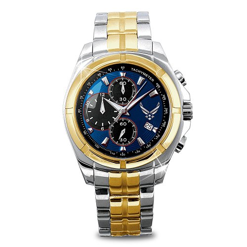 U.S. Air Force Commemorative Watch by The Bradford Exchange