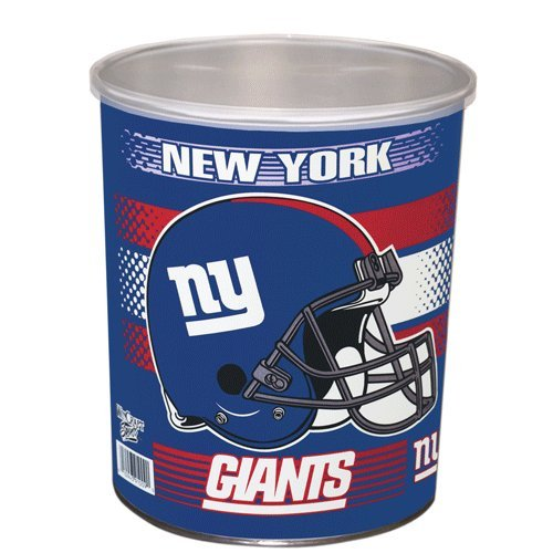NFL New York Giants Gift Tin, 1 gallon