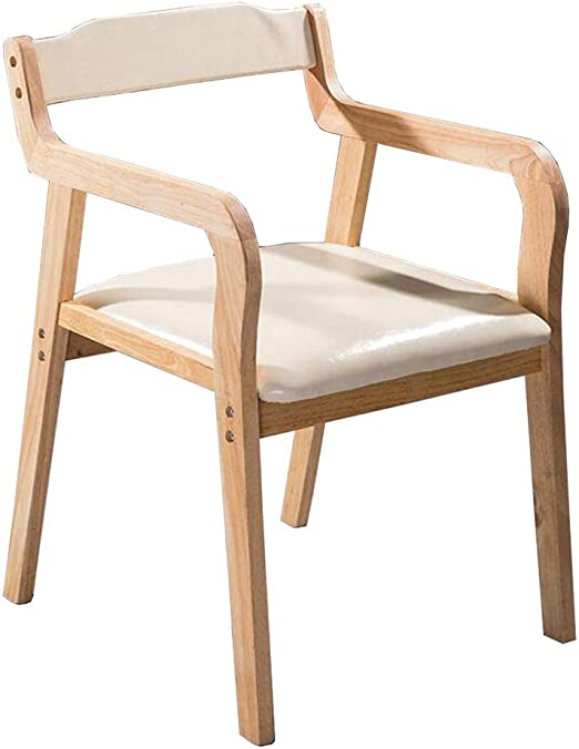 WYYY silla de Oficina Silla De Madera Silla del Comedor Silla De ...