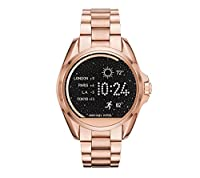 Michael Kors Access Rose Goldtone Bradshaw Touchscreen Smartwatch, 45mm