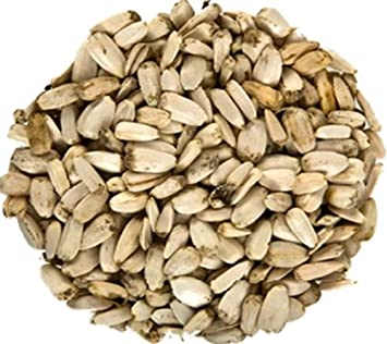 25 kg white sunflower seeds, bird seed: Amazon co uk: Pet