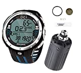 Oceanic OCi Wireless Dive Watch Comp with Transmitter and Battery Kit - Blue