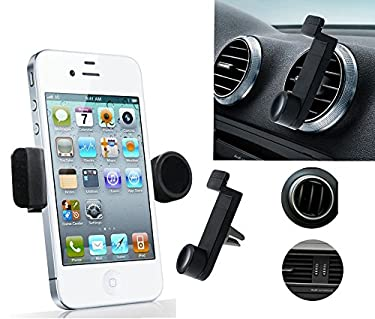 Portable Adjustable Car Air Vent Mount Holder 3.5'' - 6.3'' For Mobile Cell Phone iPhone 3 4 4S 5 5S 5C Samsung Nokia HTC Blackberry