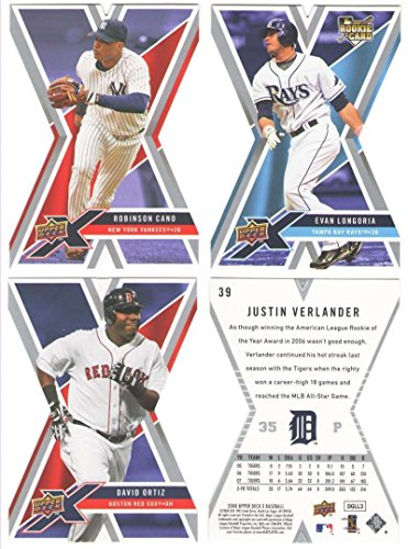 Toronto Blue Jays Die Cut (2008 Upper Deck X Die Cut - TORONTO BLUE JAYS Team Set)