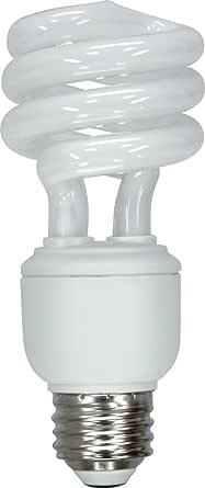 GE Lighting 89623 Energy Smart Spiral CFL 15-Watt (60-watt replacement) 900-Lumen T3 Spiral Light Bulb with Medium Base, 1-Pack